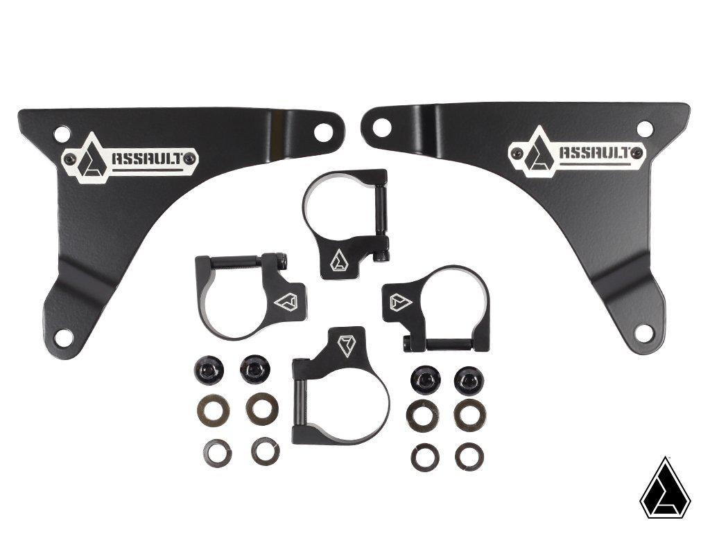 "Assault Industries Light Bar Bracket Kit-Mount-Assault Industries-1.5""-Black Market UTV"