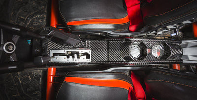 Agency Power Carbon Fiber Center Console Can-Am Maverick X3-Accessories-Agency Power-Black Market UTV