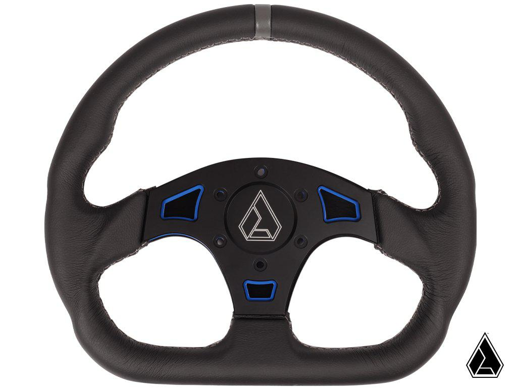 "Assault Ind. Ballistic ""D"" V2 Steering Wheel-Steering Wheel-Assault Industries-Blue-Black Market UTV"