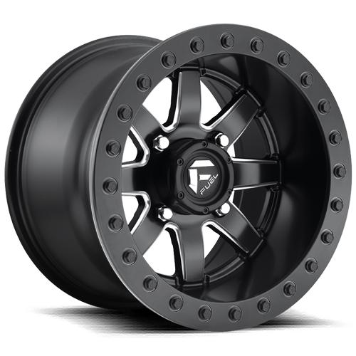 MAVERICK BEADLOCK - D928-Wheels-Fuel Wheels-Can-am-14x8-4+4-Black Market UTV