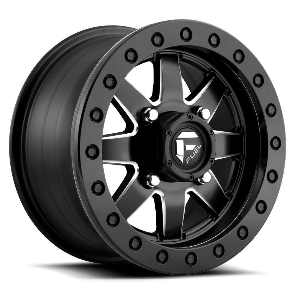 MAVERICK BEADLOCK - D938-Wheels-Fuel Wheels-Can-am-14x7-4+3-Black Market UTV