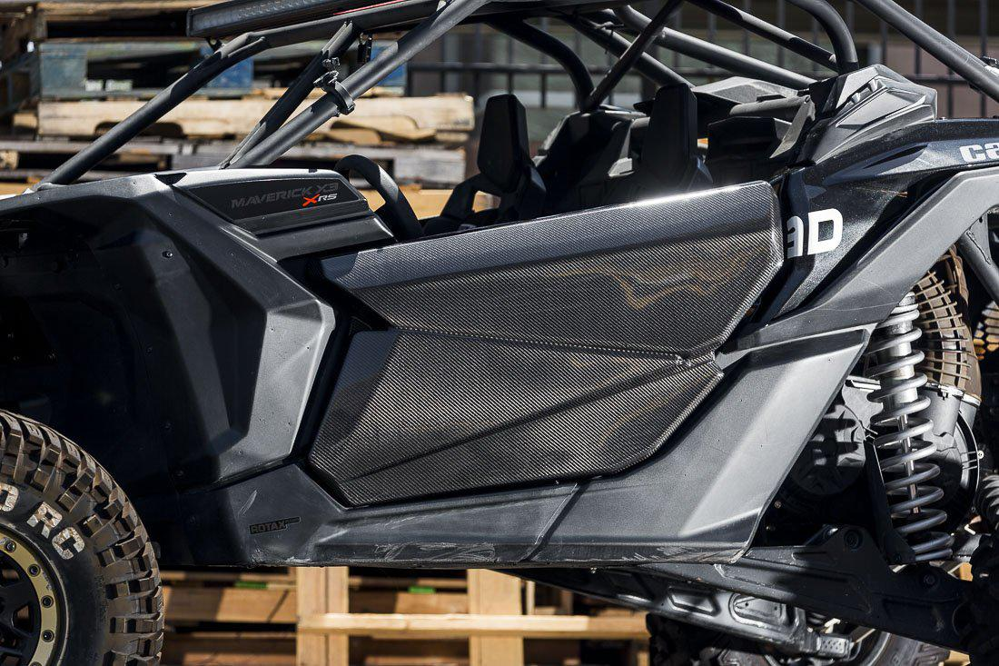 Agency Power Carbon Fiber Doors Can-Am Maverick X3 Doors-Doors-Agency Power-Front Doors Only-None-Black Market UTV