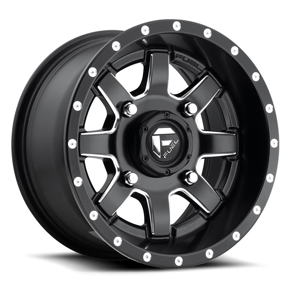 MAVERICK NON-BEADLOCK - D538-Wheels-Fuel Wheels-Can-am-14x7-5+2-Black Market UTV