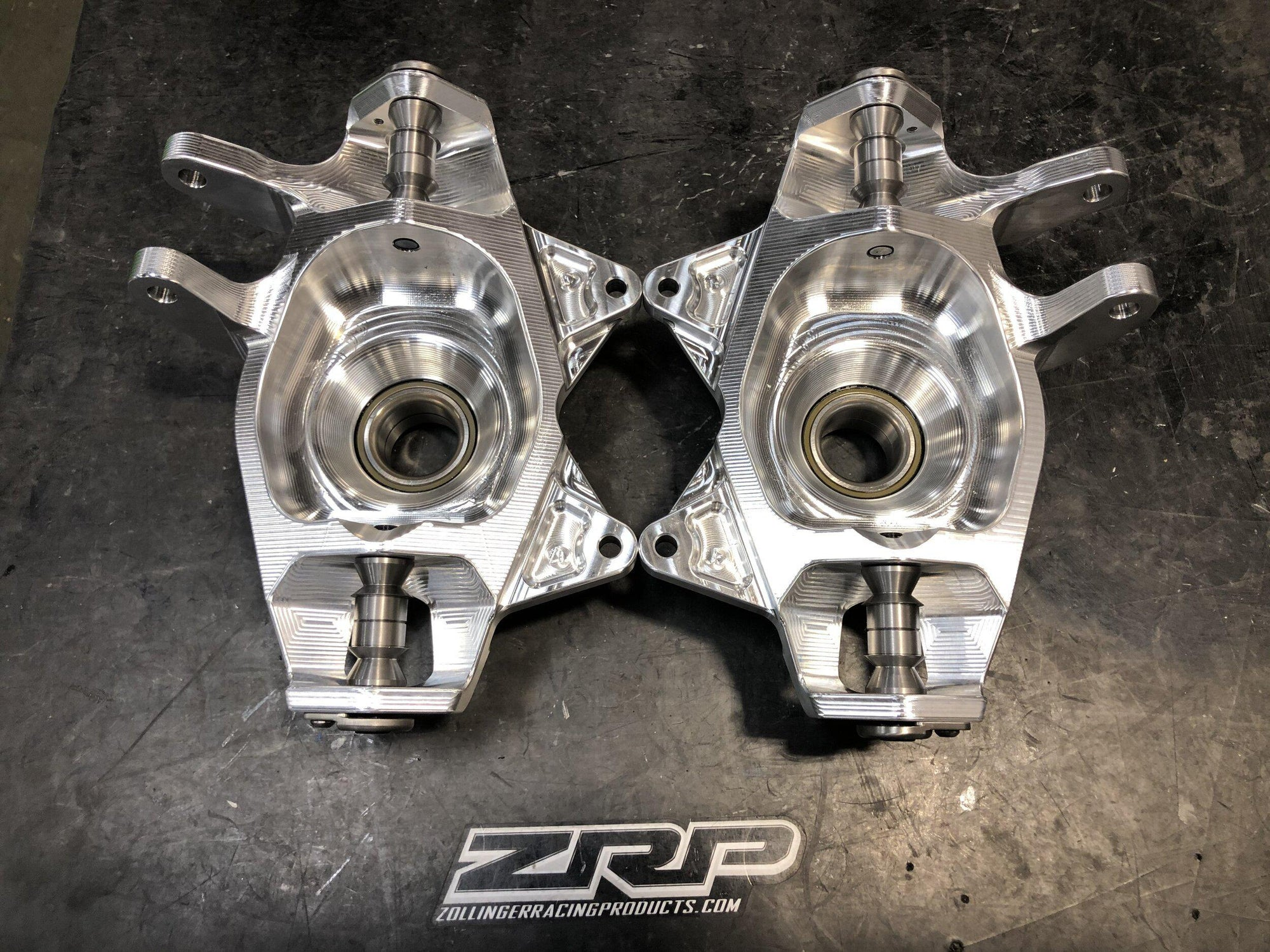 7075 X3 Front Double Shear Capped Knuckle - ZRP Pro Series-Wheel Hub-ZRP-Left Side-Black Market UTV