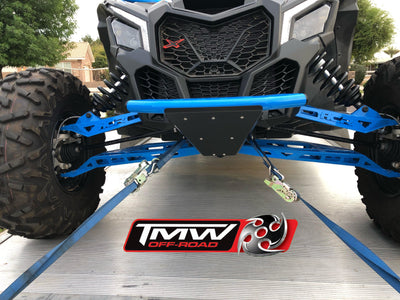 Prerunner Front Bumper-Bumper-TMW Off-Road-No Light Tabs-Raw (No Finish)-Black Market UTV