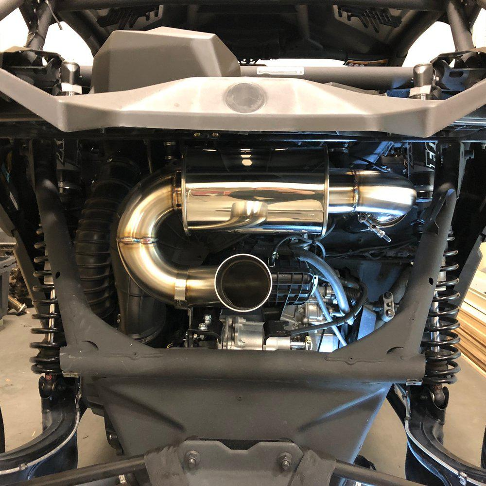 "Maverick X3 ""Sport"" Exhaust-Exhaust-Treal Performance-No Spark Arrestor-Black Market UTV"