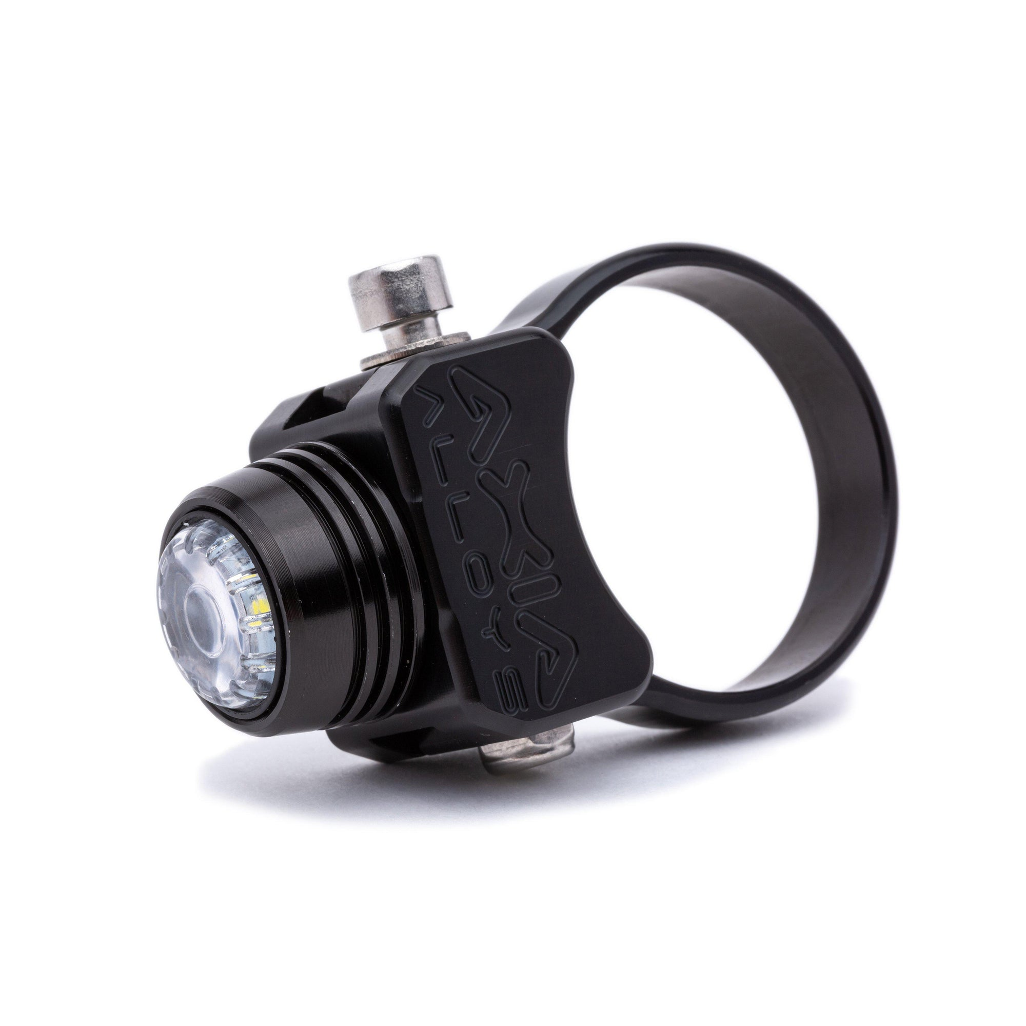 "LED Dome Light – USB Rechargeable-Mounts-Axia Alloys-Satin (raw Aluminum)-0.75""-Black Market UTV"