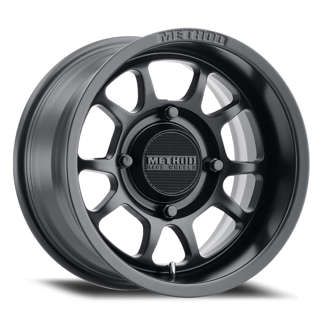 Method Race Wheels 409 Bead Grip Matte Black-Wheels-Method-Can-am-14x7-4+3-Black Market UTV