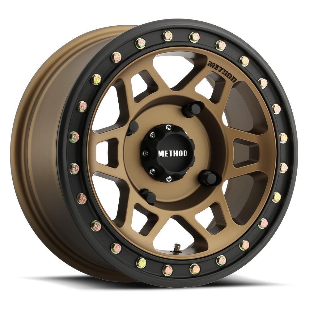 Method Race Wheels 405 Beadlock Bronze-Wheels-Method-Can-am-15x7-4+3-Black Market UTV