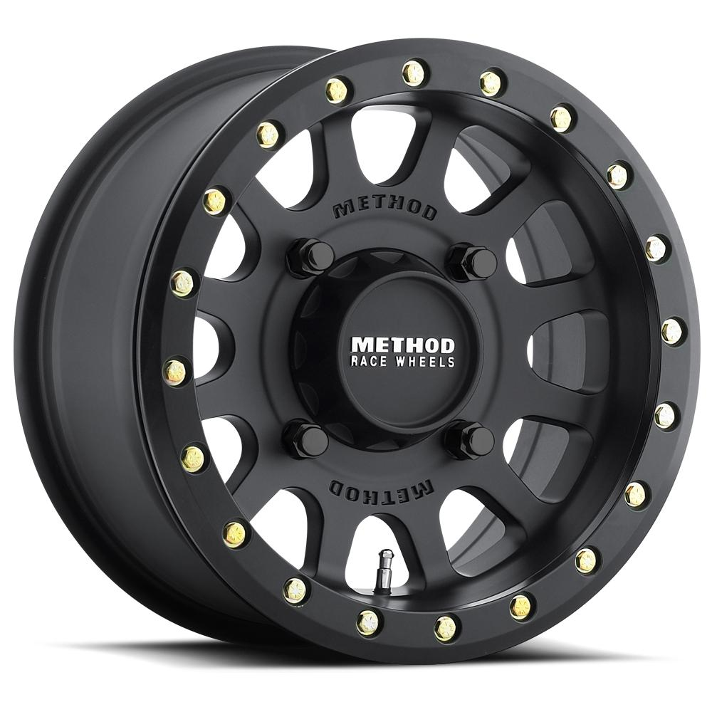 Method Race Wheels 401 Beadlock-Wheels-Method-Can-am-15x7-4+3-Black Market UTV