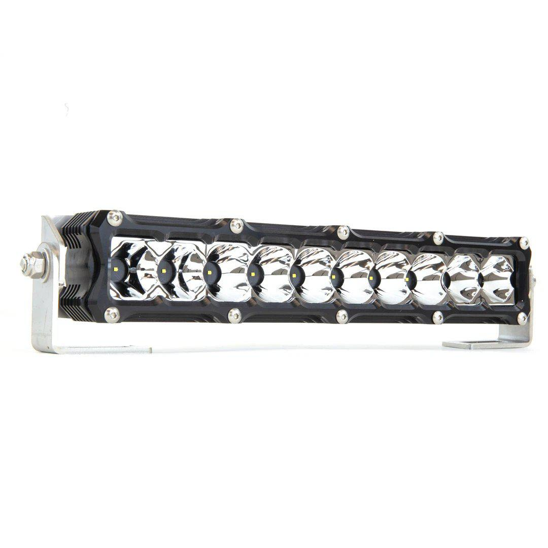 "Heretic 6 Series - 10"" Light Bar-Light Bar-Heretic Studio-Combo-No Thanks-Clear-Black Market UTV"