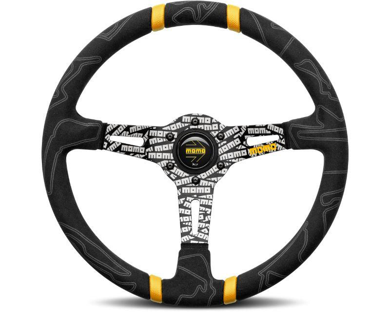 MOMO Ultra Steering Wheel 350mm-Steering Wheel-MOMO-Black-Black Market UTV