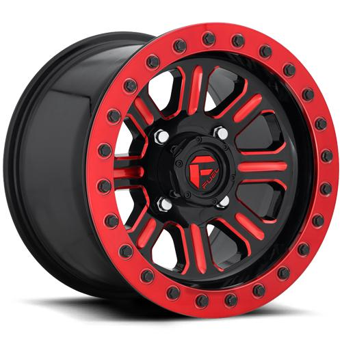 HARDLINE BEADLOCK - D911-Wheels-Fuel Wheels-Can-am-15x7-5+2-Black Market UTV