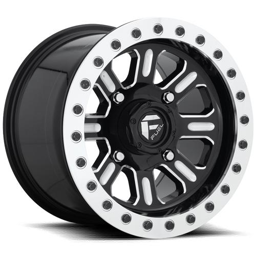 HARDLINE BEADLOCK - D910-Wheels-Fuel Wheels-Can-am-15x7-5+2-Black Market UTV