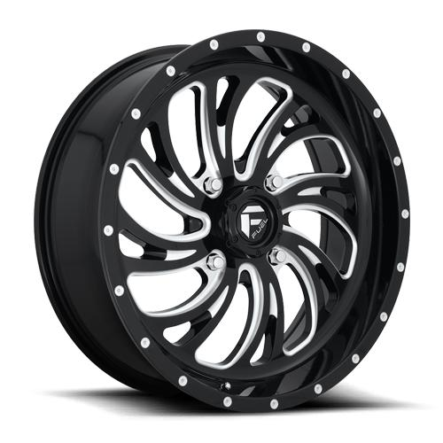 KOMPRESSOR NON-BEADLOCK - D641-Wheels-Fuel Wheels-Can-am-18x7-4+3-Black Market UTV