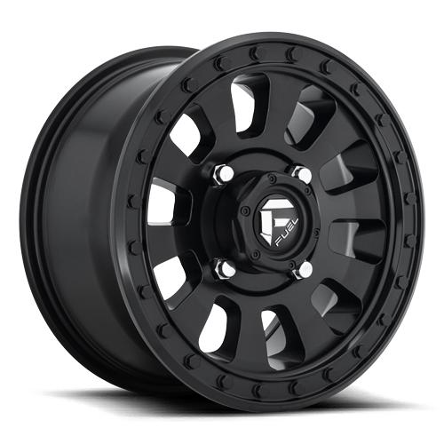 TACTIC NON-BEADLOCK - D630-Wheels-Fuel Wheels-Can-am-14x7-5+2-Black Market UTV