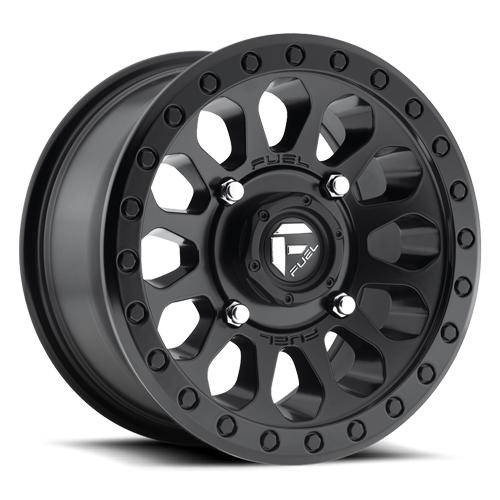 VECTOR NON-BEADLOCK - D579-Wheels-Fuel Wheels-Polaris-14x7-4+3-Black Market UTV