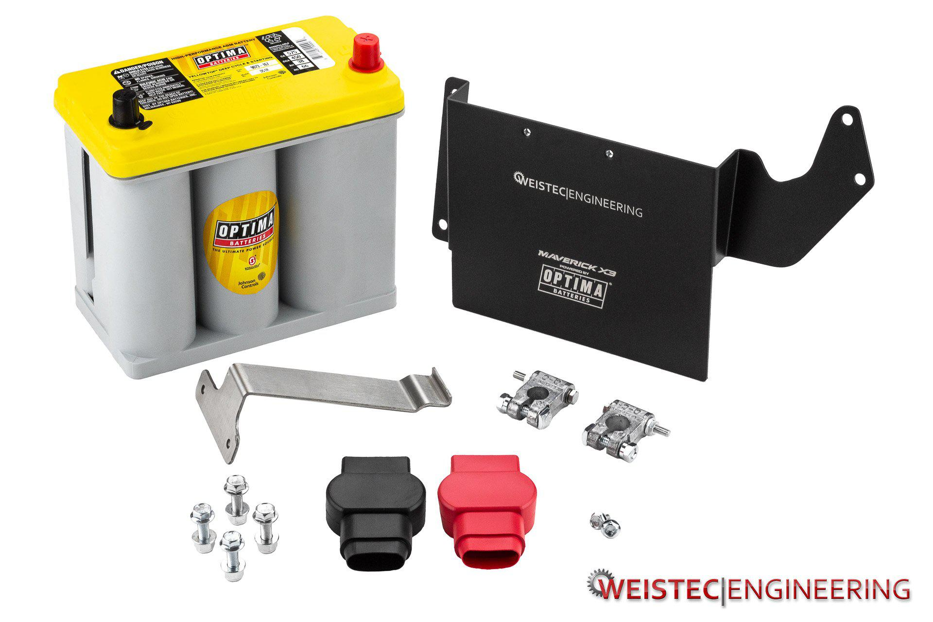 Optima Battery Kit-Battery-Weistec-Black Market UTV