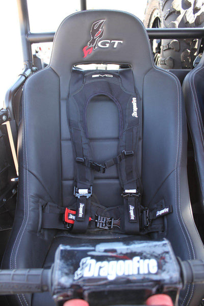 "EVO 4-Point Harness - 2""-Harness-Dragonfire Racing-Driver Side-Black Market UTV"