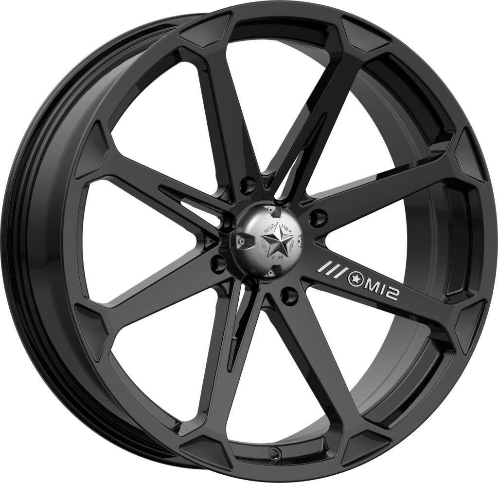 M12 Diesel-Wheels-MSA-Can-am-14x7-4+3-Black Market UTV