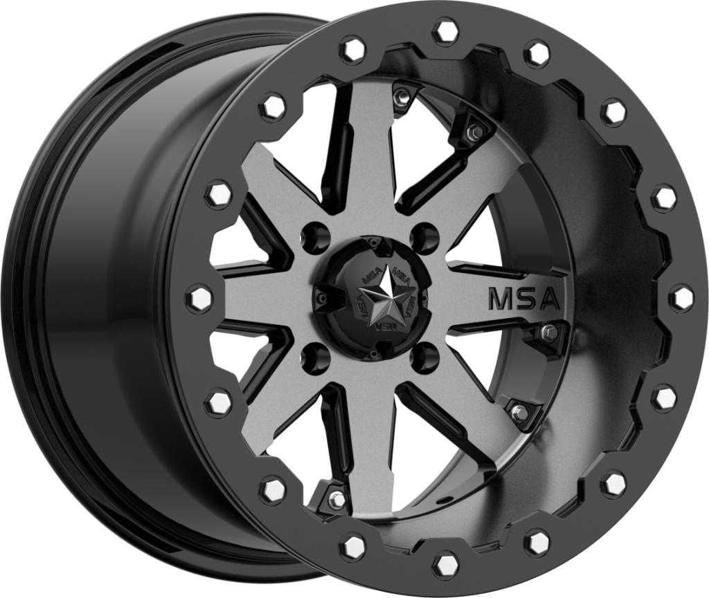 M21 LOK-Wheels-MSA-Can-am-14x7-4+3-Black Market UTV
