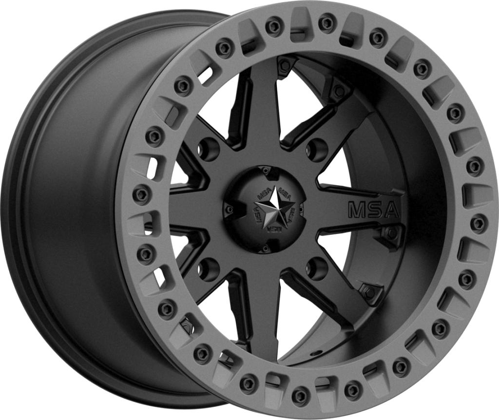 M31 LOK 2-Wheels-MSA-Can-am-14x7-4+3-Black Market UTV