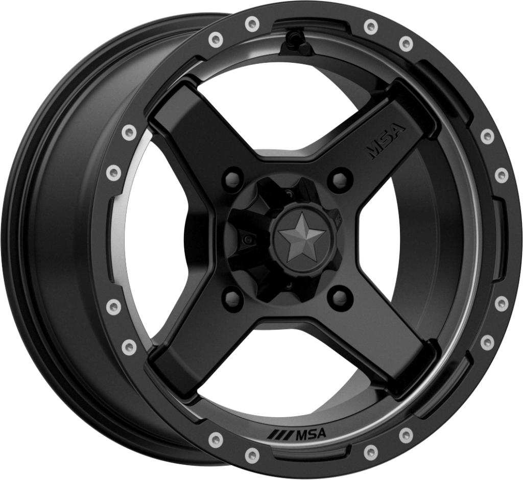 M39 Cross-Wheels-MSA-Can-am-14x7-4+3-Black Market UTV
