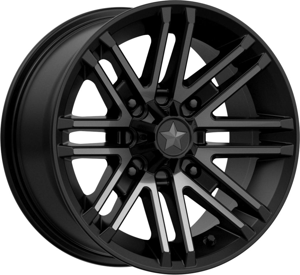 M40 Rogue-Wheels-MSA-Can-am-14x7-4+3-Black Market UTV