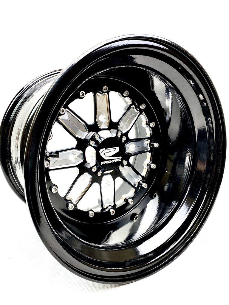 OG 2.0 - GLOSS BLACK-Wheels-Packard Performance-15x7-4x137-Black Market UTV