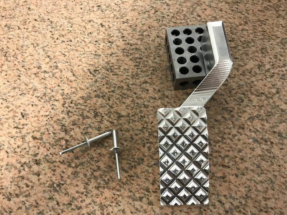 X3 Billet Throttle Pedal-Gas Pedal-ZRP-Black Market UTV