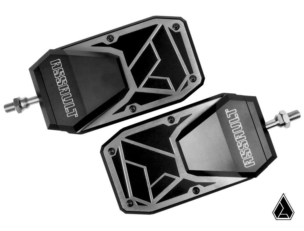 "Assault Ind. Phantom Convex Side Mirrors Set-Side Mirrors-Assault Industries-1.5""-Black Market UTV"