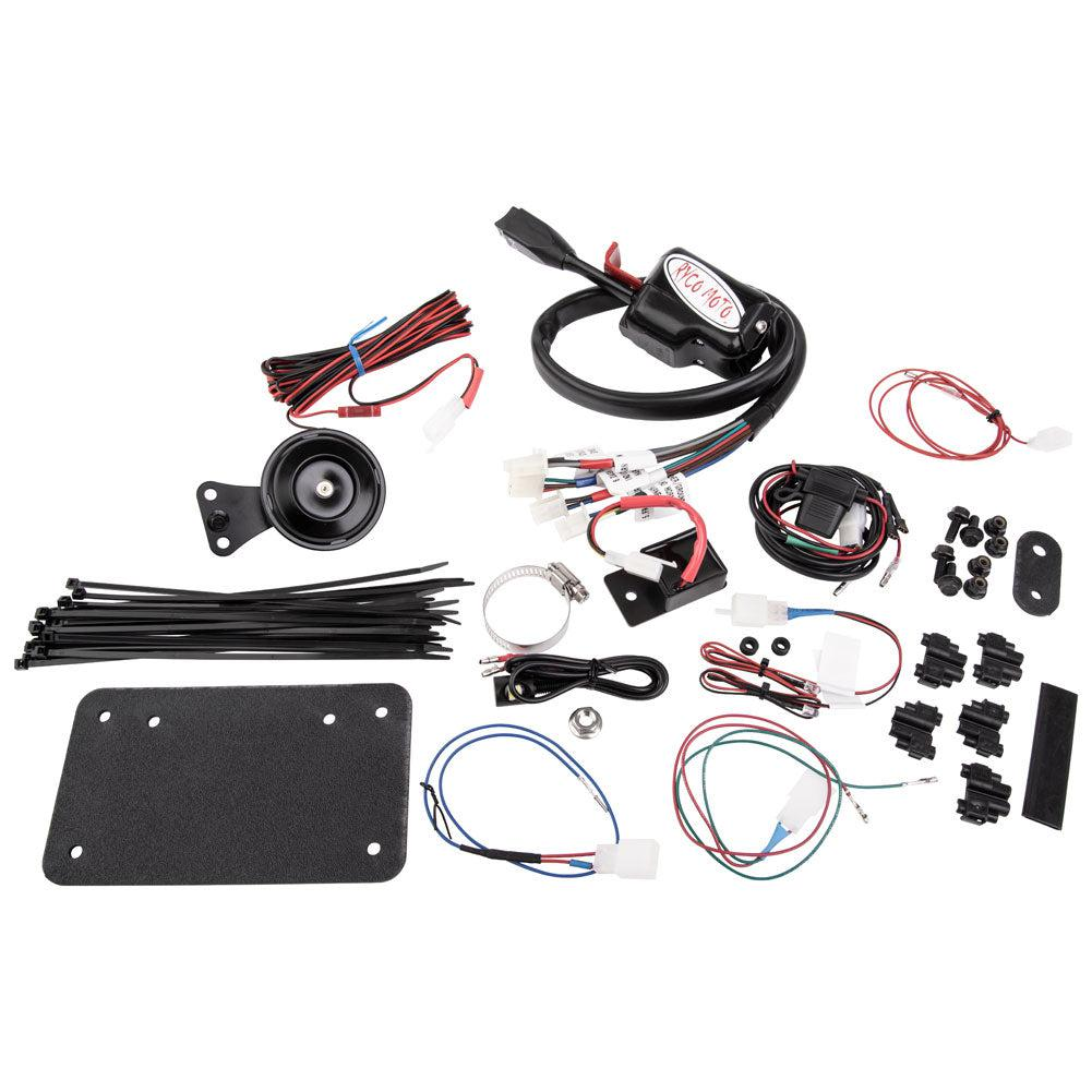 RYCO Turn Signal/Horn Kit Accent Lights - Maverick X3-Street Legal Kit-Ryco-Black Market UTV