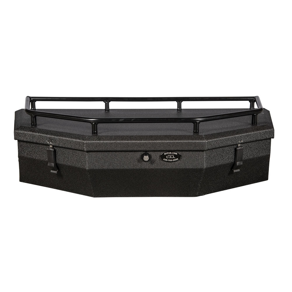 Ryfab Jumbo Aluminum Cargo Box with Top Rack-Storage-Ryfab-Black Market UTV