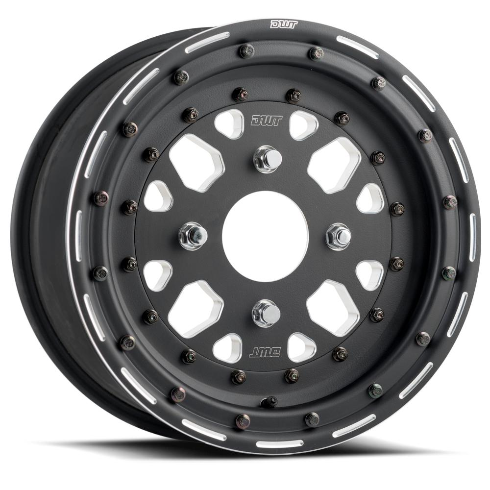 DWT Sector Beadlock Wheel-Wheels-DWT-Can-am-14x10-5+5-Black Market UTV