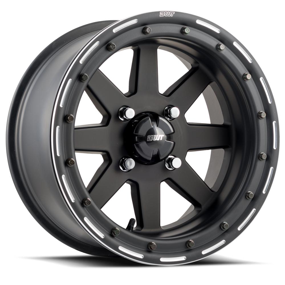 DWT Star Fighter Beadlock-Wheels-DWT-Can-am-14x10-5+5-Black Market UTV