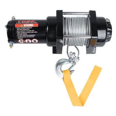 Tusk Winch With Wire Rope 2500 lb-Winch-Tusk-Black Market UTV