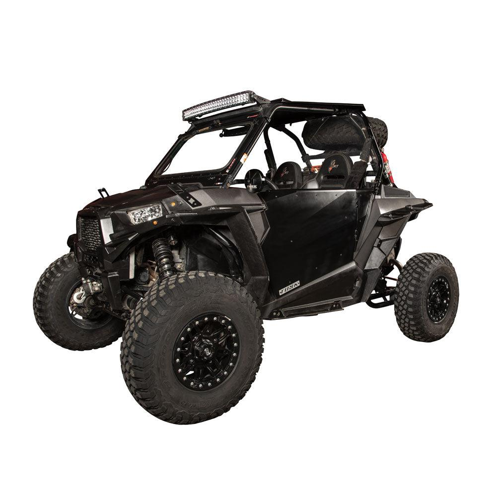 Tusk Barrier Pro Fit Doors Black Powder Coated-Doors-Tusk-Black Market UTV