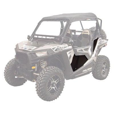Tusk Aluminum Lower Door Inserts - RZR 900-Doors-Tusk-Black Market UTV