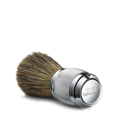 The Art Of Shaving Fusion Chrome Collection Pure Shaving Brush