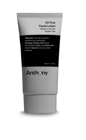 Anthony Logistics for Men Oil Free Face Lotion
