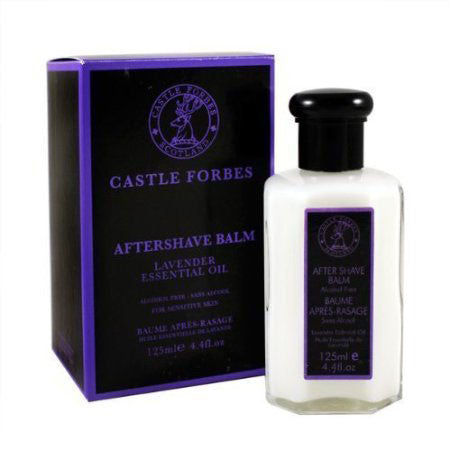 Castle Forbes Lavender Essential Oil Aftershave Balm