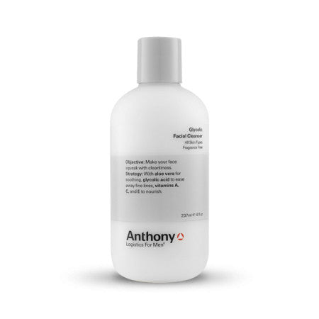 Anthony Logistics for Men Acne Glycolic Facial Cleanser