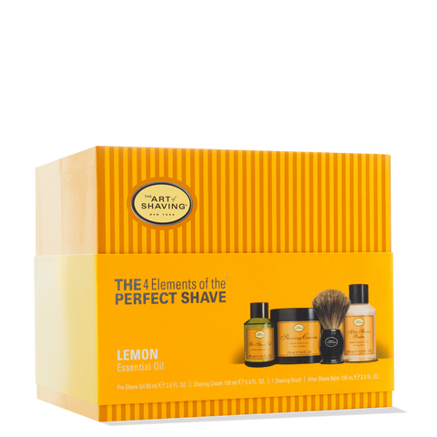 The Art of Shaving Lemon Full Size Kit