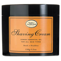 The Art of Shaving Lemon Essential Oil Shaving Cream