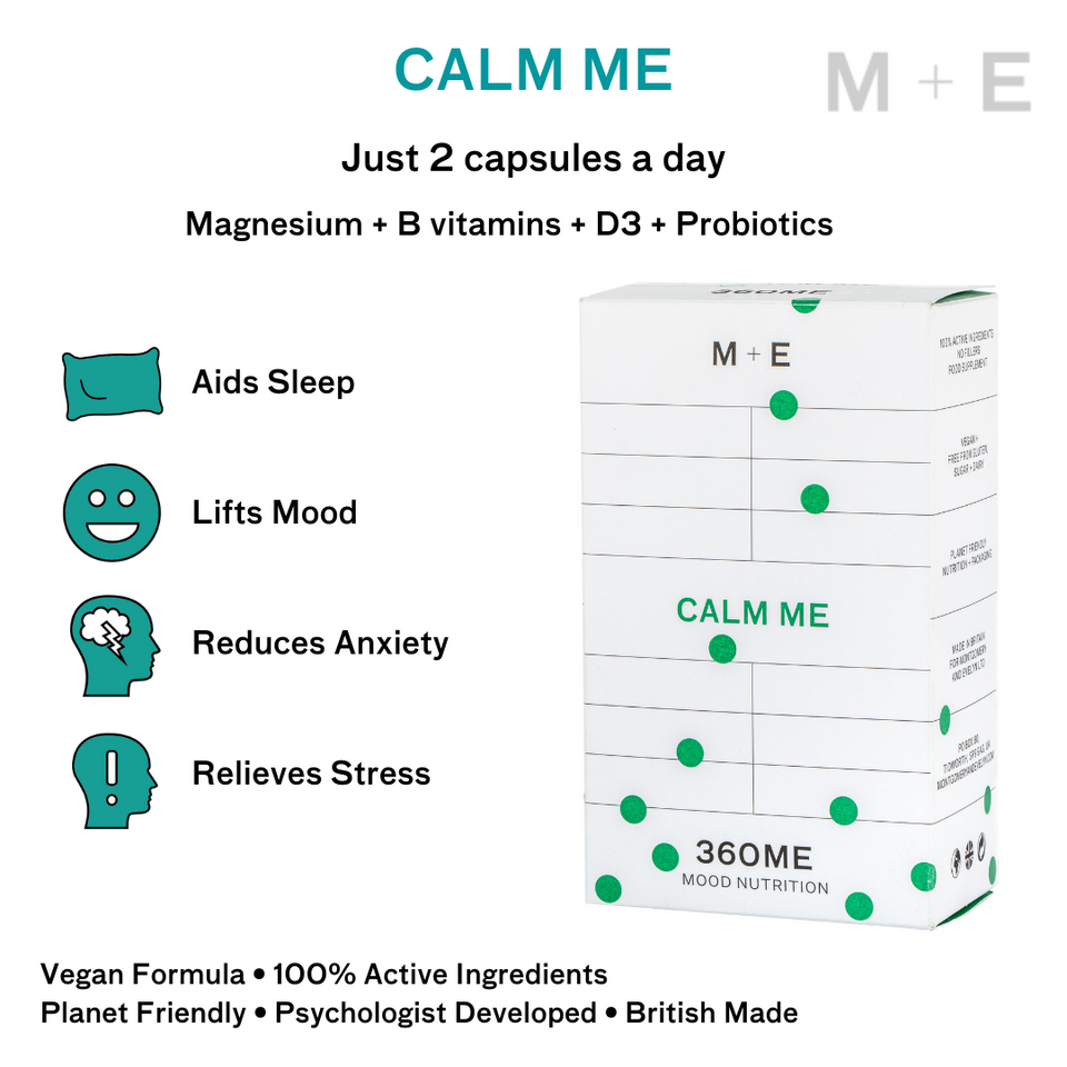 Powerful and effective premium quality Vegan vitamins and magnesium for anxiety