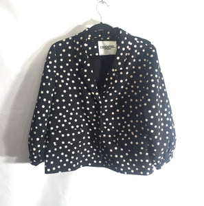 ESSENTIEL ANTWERP cropped jacket and sleeves, size 38/UK10