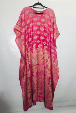 Vintage silk sari fabric made into tunics by FANTASIA