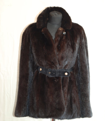 Authentic REVILLON Paris vintage mink jacket