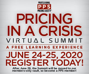 The PPS Virtual Summit: Pricing In A Crisis