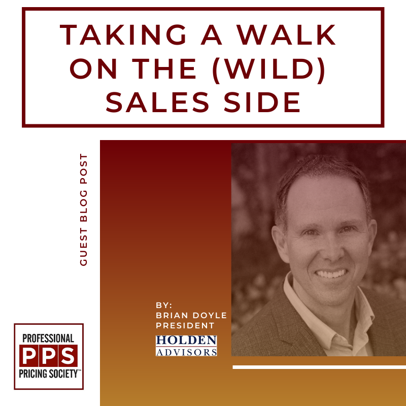 Taking a Walk on the (Wild) Sales Side